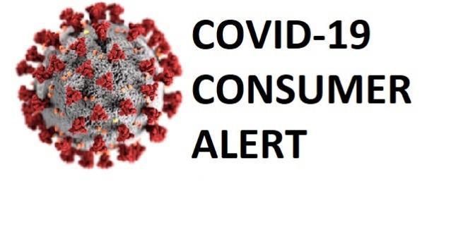 covid-19 consumer alert