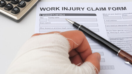 workers' compensation claim in wilmington, nc